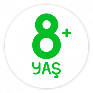 8+ Yaş