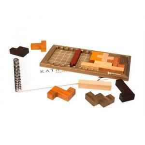 katamino deluxe genel görünüm, katamino deluxe kutu içeriği